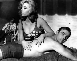 Margaret Nolan as Dink in Goldfinger